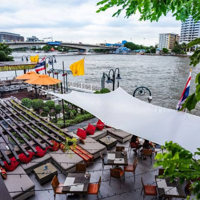 Location & neighborhood hotel riva surya bangkok